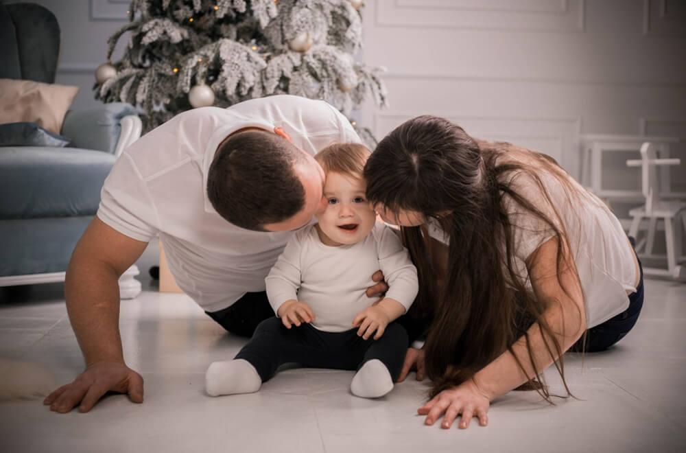 Фотосессия семьи с детьми