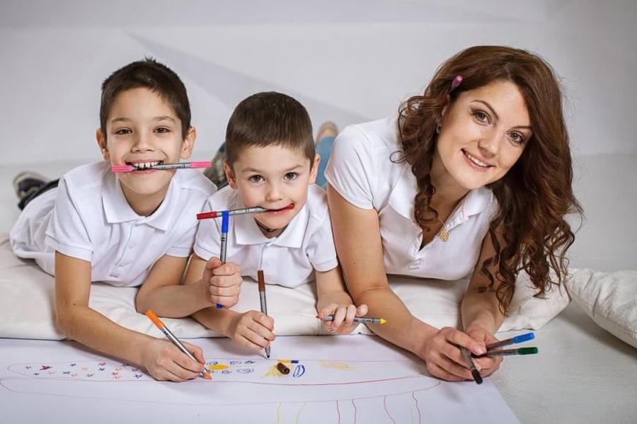 Образы для семейной фотосессии с детьми