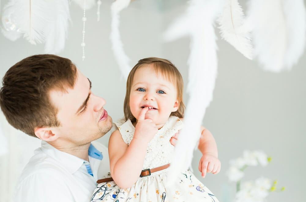 Семейная фотосъемка в студии в Москве
