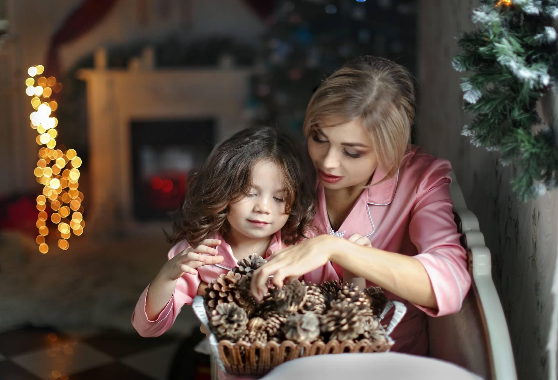 Новогодние фотосессии с детьми в студии