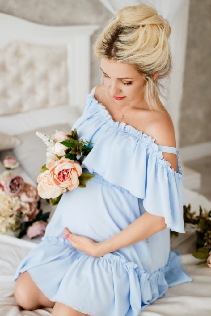 Фотосессия беременных на 9 месяце
