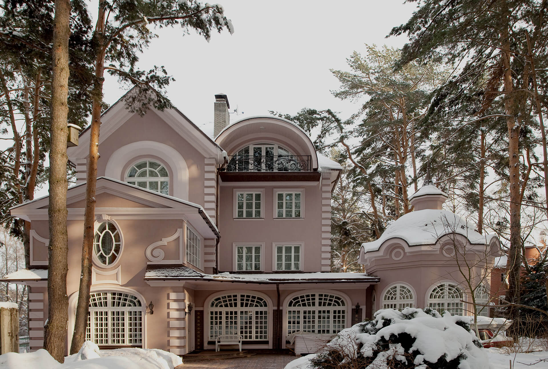 Архитектурная съемка в Москве